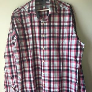 Red Thomas Dean button up